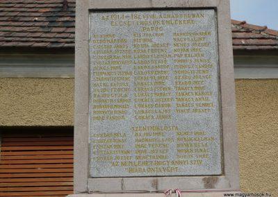 Pápoc és Szentmiklósfa világháborús emlékmű 2009.05.15.küldő-Sümec (2)