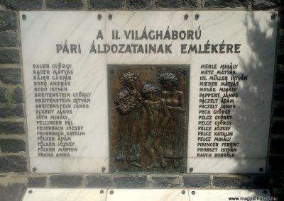 Pári II.vh emlékmű 2012.04.28. küldő-miki (1)