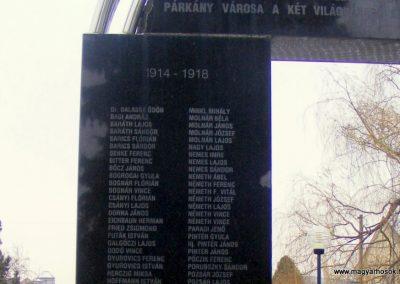 Párkány világháborús emlékmű 2012.12.08. küldő-Méri (4)