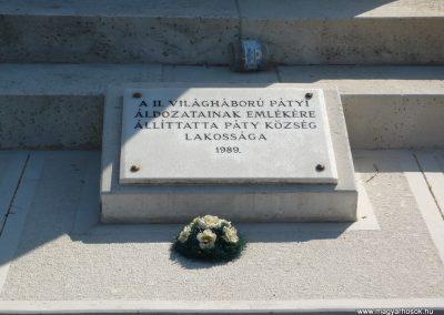 Páty világháborús emlékmű 2009.08.03. küldő-Sümec (7)