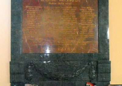 Pécs A Ciszteri rend Nagy Lajos gimnáziuma világháborús emléktáblák 2012.09.25. küldő-Bagoly András (3)