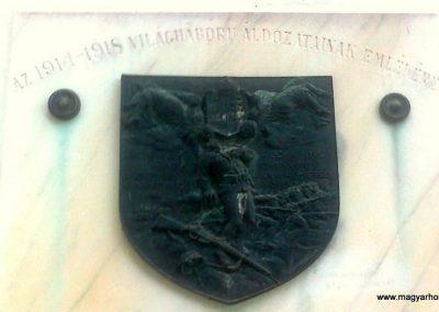 Pécs-Málom I. világháborús emléktábla 2014.10.02. küldő-Turul 68 (2)