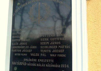 Pécs-Nagyárpád világháborús emléktáblák 2012.12.27. küldő-Turul 68 (3)
