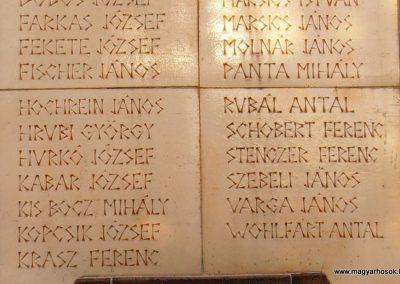 Pécs-Vasas világháborús emléktáblák 2012.09.16. küldő-Bagoly András (7)