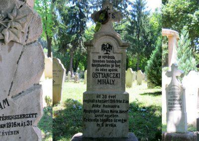 Pécs - köztemető - I. világháborús emlékmű és katonasírok 2016.07.18. küldő-Emese (11)