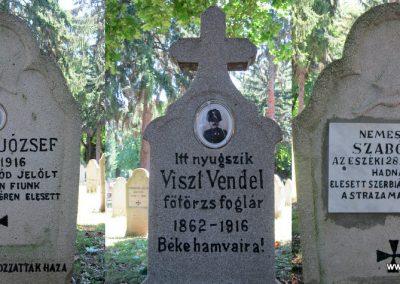 Pécs - köztemető - I. világháborús emlékmű és katonasírok 2016.07.18. küldő-Emese (14)