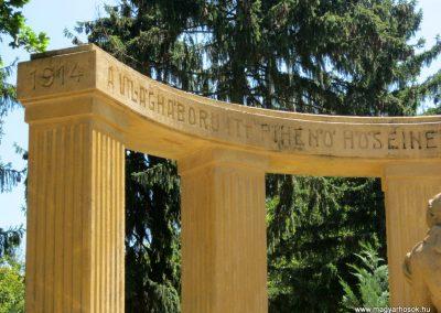 Pécs - köztemető - I. világháborús emlékmű és katonasírok 2016.07.18. küldő-Emese (2)