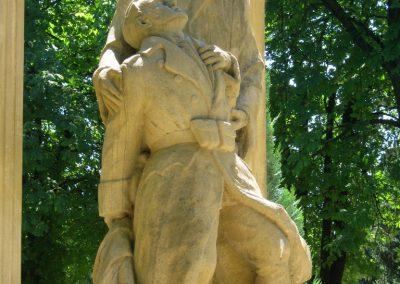 Pécs - köztemető - I. világháborús emlékmű és katonasírok 2016.07.18. küldő-Emese (3)