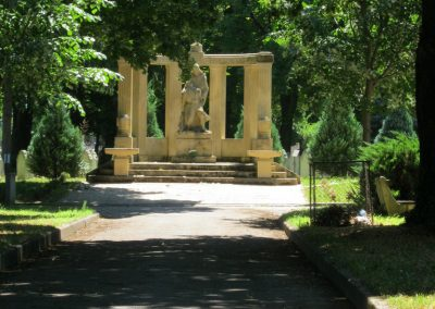 Pécs - köztemető - I. világháborús emlékmű és katonasírok 2016.07.18. küldő-Emese