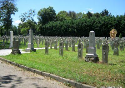 Pécs - köztemető - I. világháborús katonatemető 2016.07.18. küldő-Emese