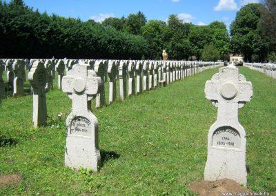 Pécs - köztemető - I. világháborús katonatemető 2016.07.18. küldő-Emese (8)