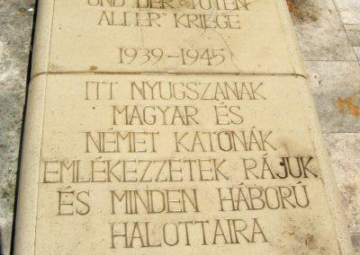 Pécs - köztemető - II. világháborús emlékmű és katonasírok 2016.07.18. küldő-Emese (4)