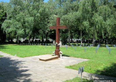Pécs - köztemető - II. világháborús emlékmű és katonasírok 2016.07.18. küldő-Emese