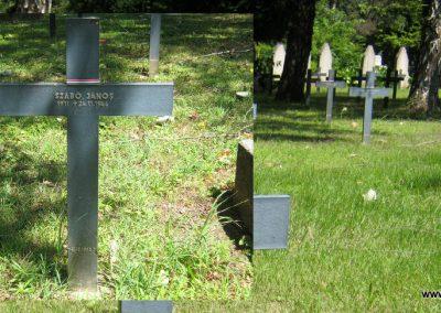 Pécs - köztemető - II. világháborús emlékmű és katonasírok 2016.07.18. küldő-Emese (5)