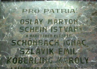 Pécs - levéltár - I. világháborús emléktábla 2016.07.14. küldő-Emese (3)