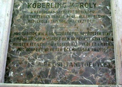 Pécs - levéltár - I. világháborús emléktábla 2016.07.14. küldő-Emese (4)