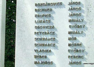 Pécsudvard világháborús emlékmű 2018.05.24. küldő-Bagoly andrás (6)