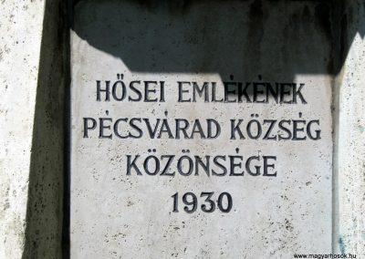 Pécsvárad I. világháborús emlékmű 2016. 07.15. küldő-Emese (5)