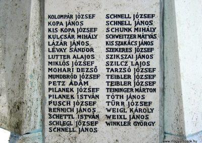 Pécsvárad I. világháborús emlékmű 2016. 07.15. küldő-Emese (6)