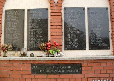 Pély II.vh emlékmű 2008.08.25. küldő-id. Ócsay András (3)