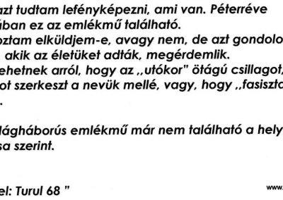 Péterréve II. világháborús emlékmű 2012.05.05. küldő-Turul 68