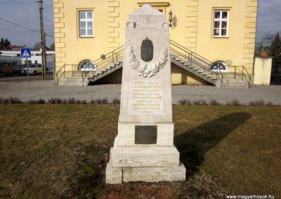 Pétervására I. világháborús emlékmű 2019.02.15. küldő-Bóta Sándor (2)