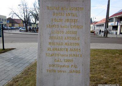 Pétervására I. világháborús emlékmű 2019.02.15. küldő-Bóta Sándor (8)