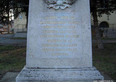 Pétervására I.vh emlékmű 2007.12.04. küldő-Kályhás (1)
