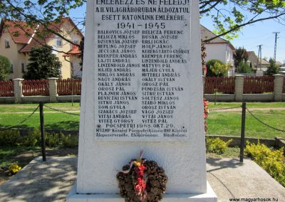 Pócspetri II.világháborús emlékmű 2012.04.27. küldő-kalyhas (3)
