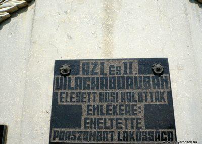 Pórszombat világháborús emlékmű 2013.04.19. küldő-Sümec (4)