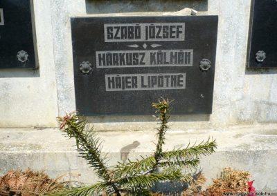 Pórszombat világháborús emlékmű 2013.04.19. küldő-Sümec (7)