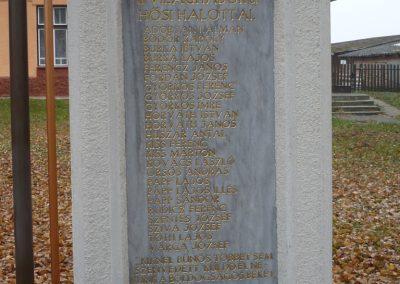 Pölöskefő világháborús emlékmű 2009.11.21.küldő-Sümec (2)