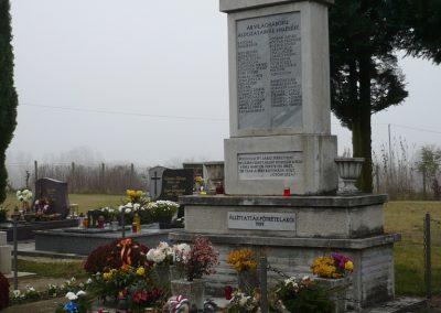 Pötréte II.vh emlékmű 2009.11.21. küldő-Ágca