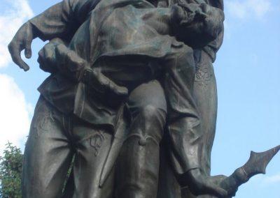 Püspökladány világháborús emlékmű 2009.05.16. küldő-Huszár Peti (1)