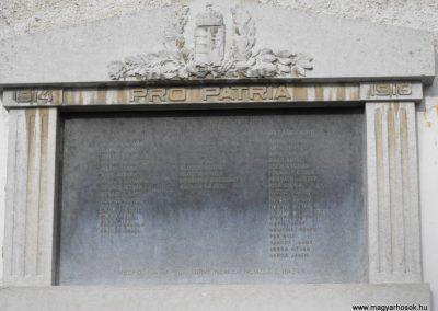 Püspökmolnári világháborús emléktáblák 2009.01.19.küldő-gyurkusz (1)