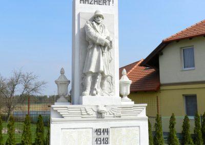 Pacsa felújított I. világháborús emlékmű 2017.03.25. küldő-Huber Csabáné (1)