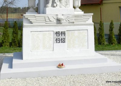 Pacsa felújított I. világháborús emlékmű 2017.03.25. küldő-Huber Csabáné (4)