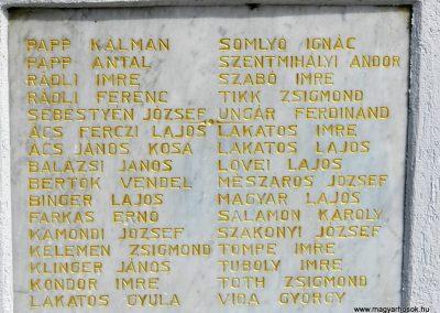 Pacsa felújított I. világháborús emlékmű 2017.03.25. küldő-Huber Csabáné (6)