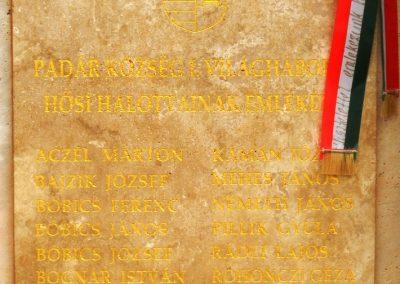 Padár új világhábrús emlékmű 02017.10.08. küldő-Huber Csabáné (1)
