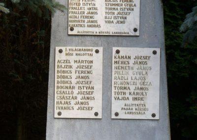 Padár világháborús emlékmű 2009.07.06.küldő-HunMi (1)