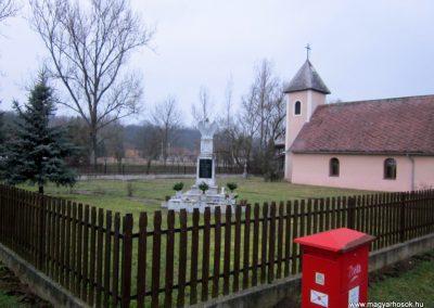 Pamlény világháborús emlékmű 2014.02.15. küldő-kalyhas