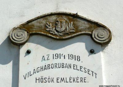 Pamuk I. világháborús emléktábla 2013.04.15. küldő-Sümec (3)