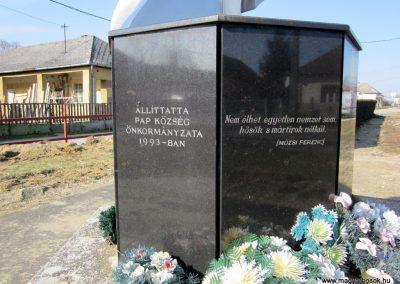 Pap világháborús emlékmű 2014.02.24. küldő-kalyhas (6)