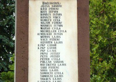 Papkeszi világháborús emlékmű 2010.05.30. küldő-Ágca (11)