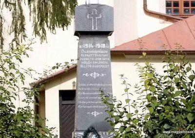 Perbete I. világháborús emlékmű 2013.09.15. küldő-Méri (1)