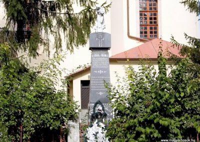Perbete I. vh. emlékmű