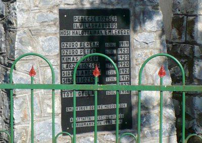 Perecse II.vh emlékmű 2009.05.21.küldő-Gombóc Arthur (1)