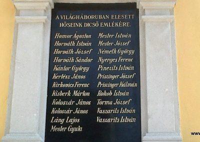 Pereszteg I. világháborús emléktábla 2014.06.08. küldő-Gottlieb László (2)