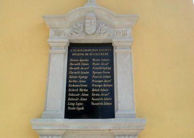 Pereszteg I. világháborús emléktábla 2014.06.08. küldő-Gottlieb László