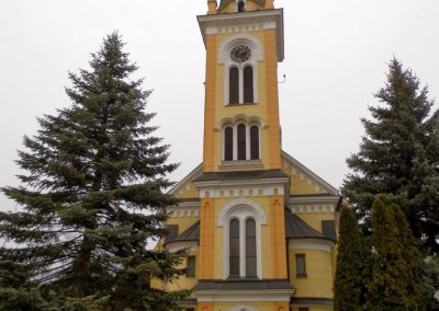 Petőháza, Szentháromság templom